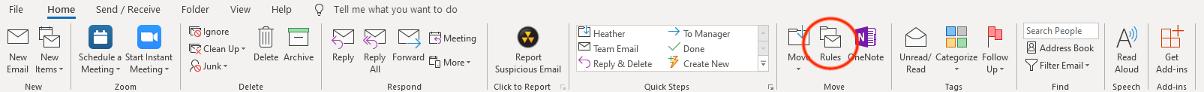 Outlook Toolbar